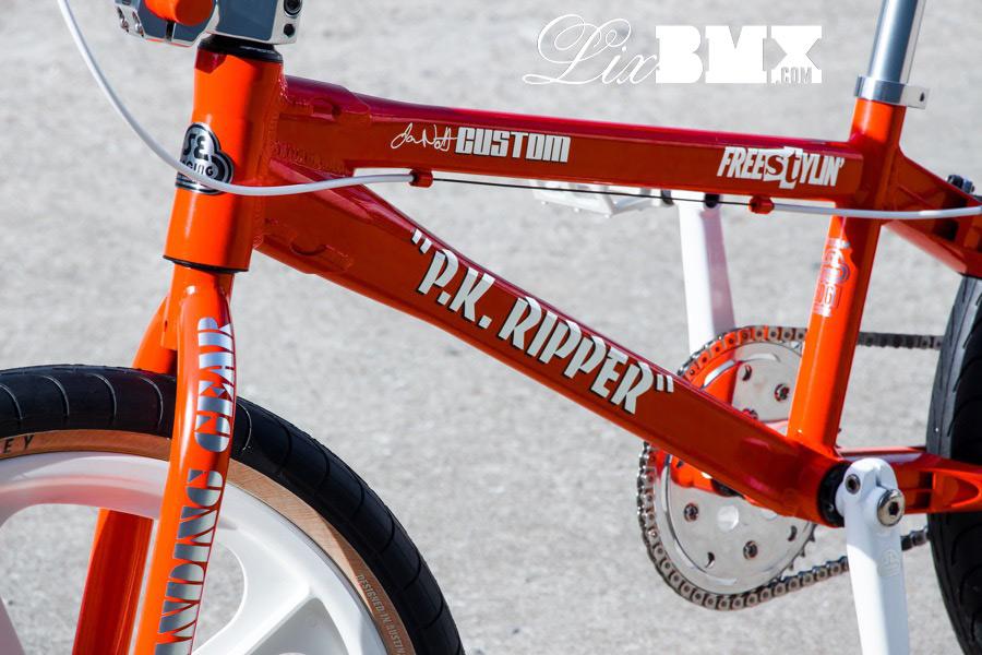 SE Racing PK Ripper Orange Decals