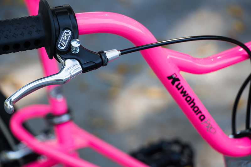 1987 Kuwahara Magician Pro in Neon Pink by Lix