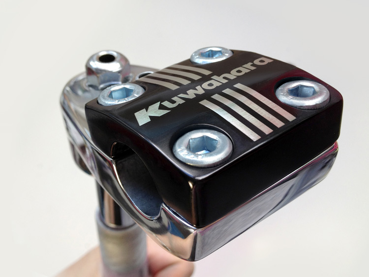 USA BMX freestyle rotor stem - restored for Kuwahara Magician